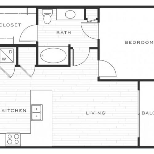 The Mai Tai c | 1 bed 1 bath | from 726 square feet
