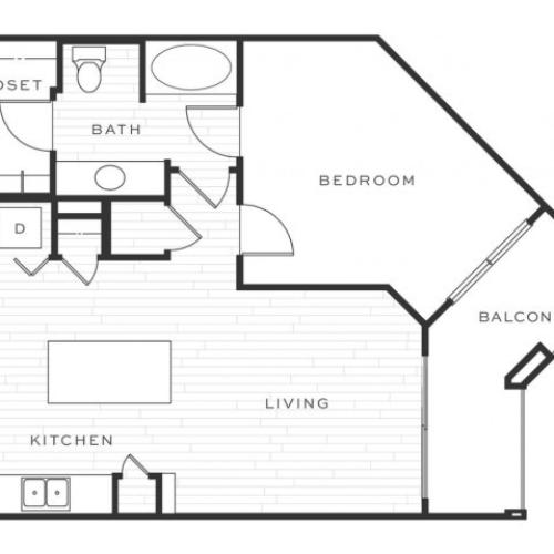 The Greyhound a | 1 bed 1 bath | from 788 square feet