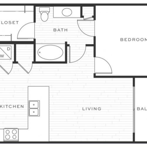 The Mai Tai b | 1 bed 1 bath | from 723 square feet