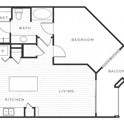 The Greyhound b | 1 bed 1 bath | from 788 square feet