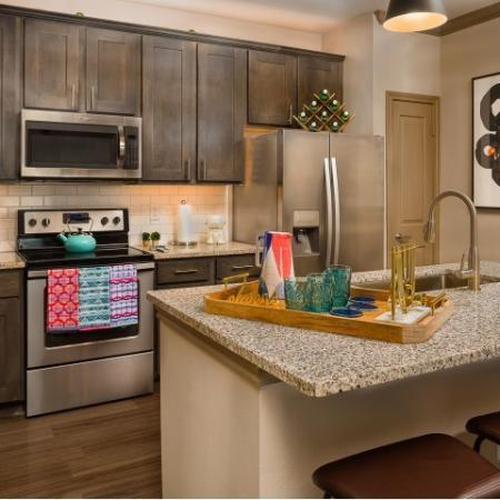 State-of-the-Art Kitchen | Sapphire Bay Apartments |