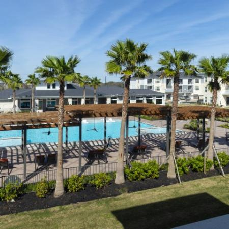 Resort Style Pool | Sapphire Bay Apartments | Apartments In Baytown