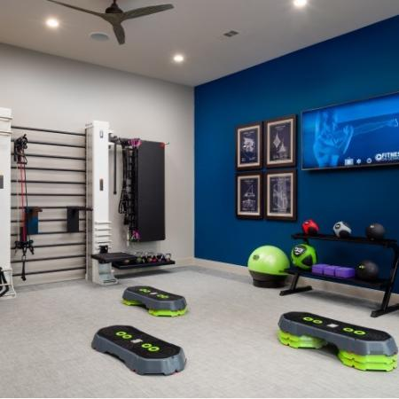 State-of-the-Art Fitness Center | Sapphire Bay Apartments |