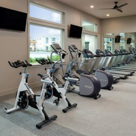 On-site Fitness Center | Sapphire Bay Apartments |