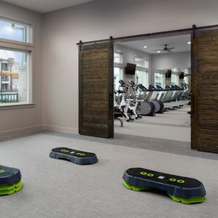 Cutting Edge Fitness Center | Sapphire Bay Apartments |