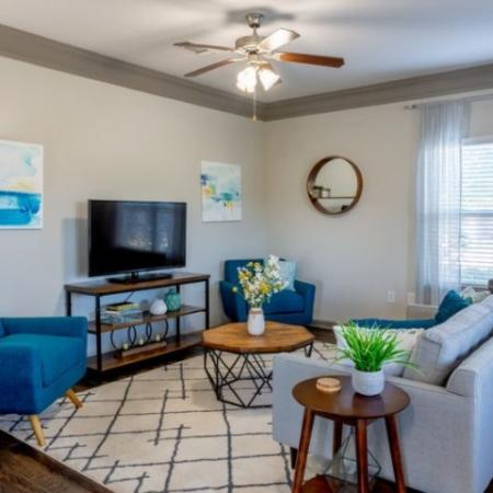 Elegant Living Room | Apartments Prattville AL | Meadows at HomePlace