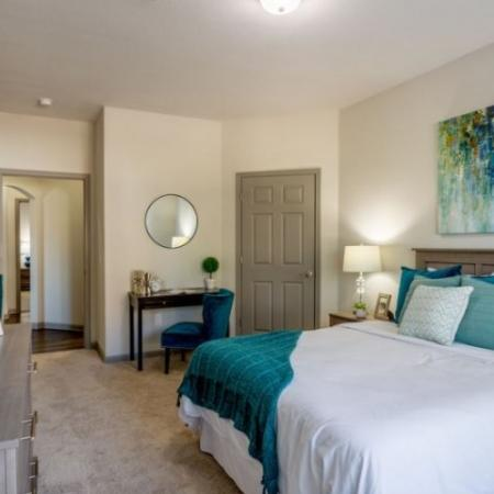 Spacious Master Bedroom | Prattville Alabama Apartments | Meadows at HomePlace