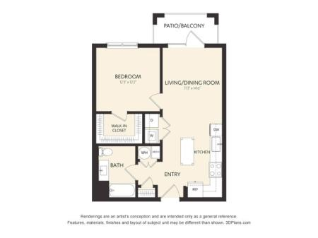 B3AH Floor Plan