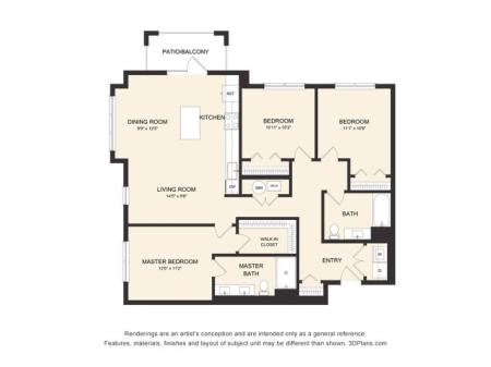 D1AH Floor Plan