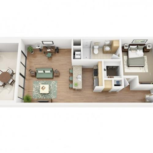 Meritage Floor Plan