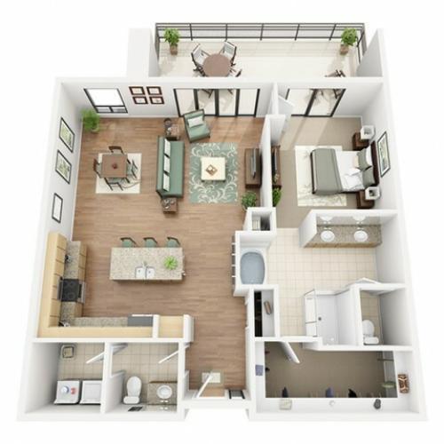 Chianti Penthouse Floor Plan