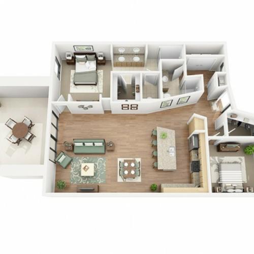 Cabernet Sauvignon Floor Plan