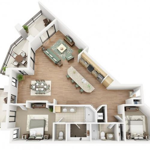 Shiraz Floor Plan