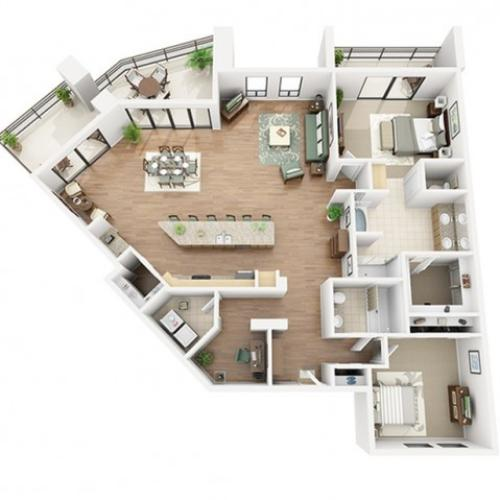 Zinfandel Floor Plan