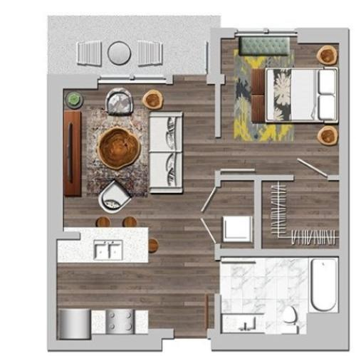 1ba2 | Next on Lex Apartments | Luxury Apartments in Glendale CA