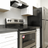 remodeled 1 bedroom stainless steel kitchen appliances