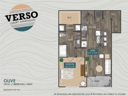 Olive A2-L floor plan
