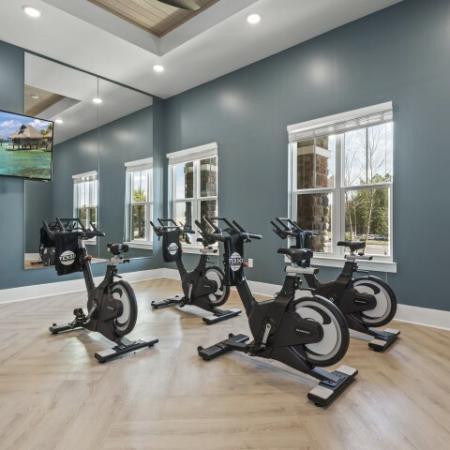 Quality Exercise bikes | Verso Luxury Apartments