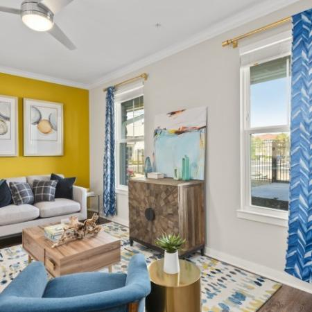 Interior sitting room | Verso Luxury Apartments