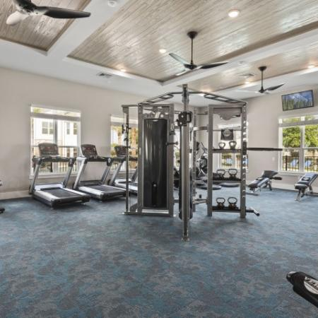 Resident Gym | Verso Luxury Apartments