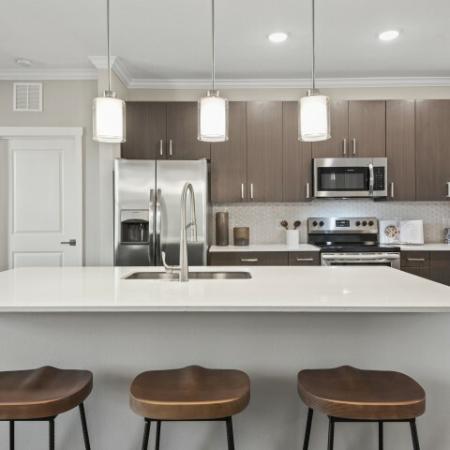 Clean Kitchen | Verso Luxury Apartments