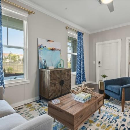 sitting room | Verso Luxury Apartments