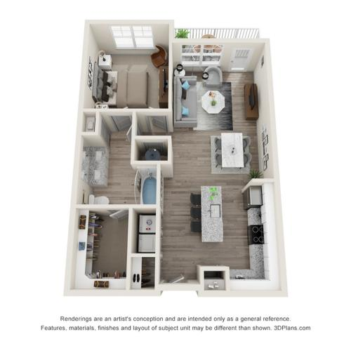Verge Luxury Flats | Brim Floor Plan