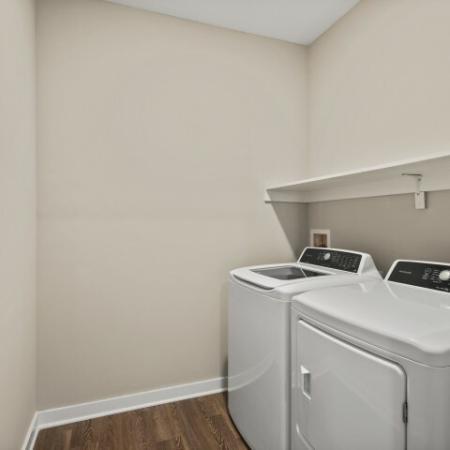 Laundry Room | Verso Luxury Apartments