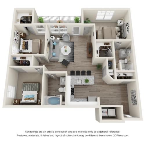Verge Luxury Flats | Boundary Floor Plan