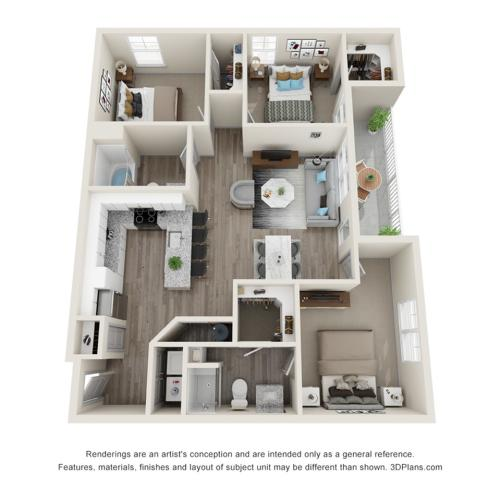 Verge Luxury Flats | Proximity Floor Plan