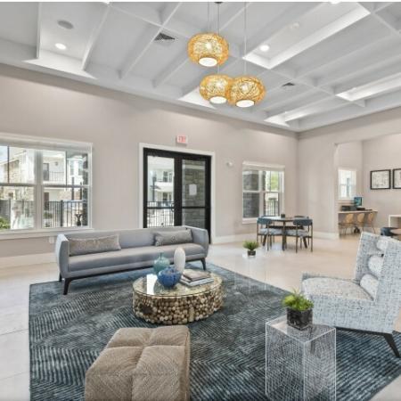 Spacious Resident Lounge | Verso Luxury Apartments