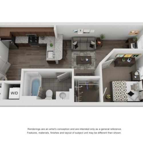 A2 | One Bedroom