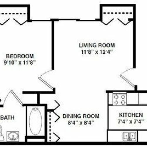 The Alexander Floor Plan