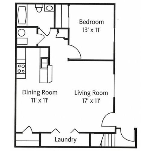 Golden Oak Floor Plan