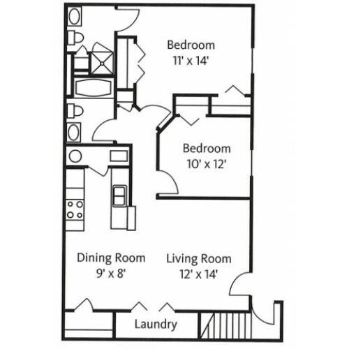 Monterey Pine Floor Plan