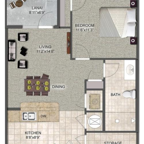 AVESSO | 1 BED 1 BATH