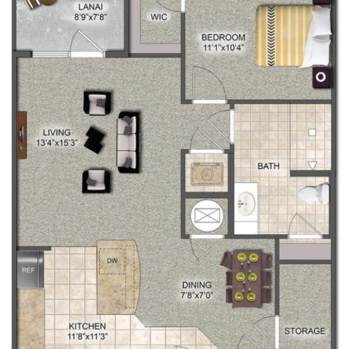MORETO | 1 BED 1 BATH