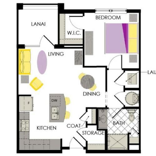 Arcadia Gardens Palm beach Gardens FL | marigold floorplan
