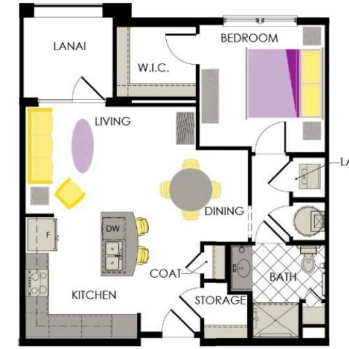 Arcadia Gardens Palm beach Gardens FL | Lavender floorplan