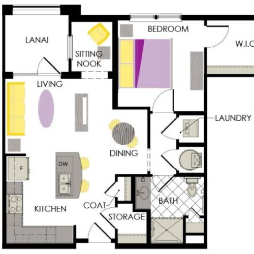 Arcadia Gardens Palm beach Gardens FL | Lily floorplan