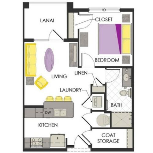 Arcadia Gardens, Palm Beach Gardens FL | Petunia Deluxe floorplan