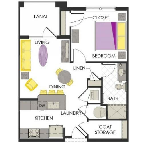 Arcadia Gardens, Palm Beach Gardens FL | Sage Deluxe floorplan