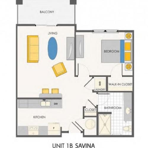 The Sovana at Stuart | Savina floorplan