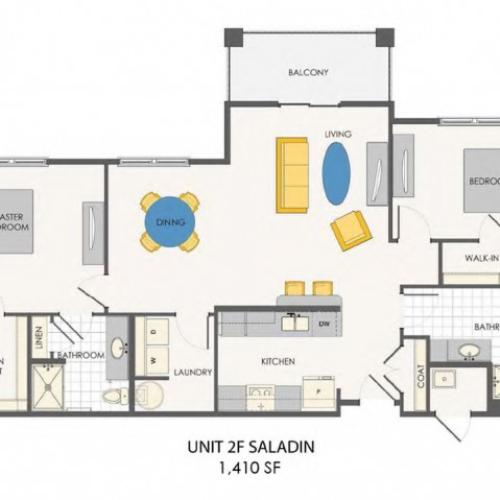 Sovana at Stuart | Saladin floor plan