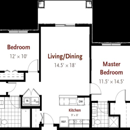 Hart floor plan