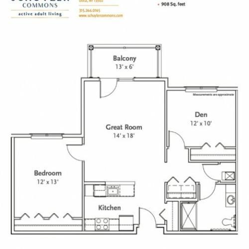 Franklin floor plan