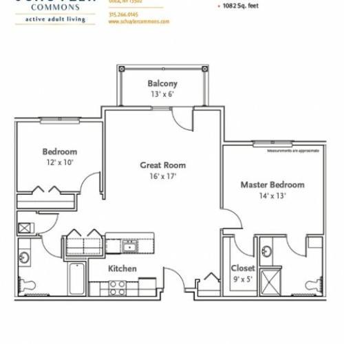 Revere floor plan