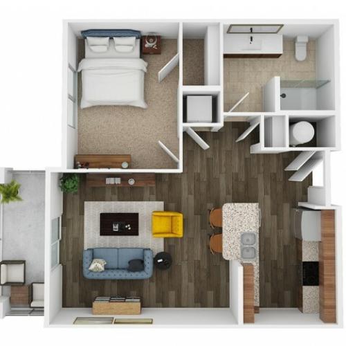 savina 3d floor plan