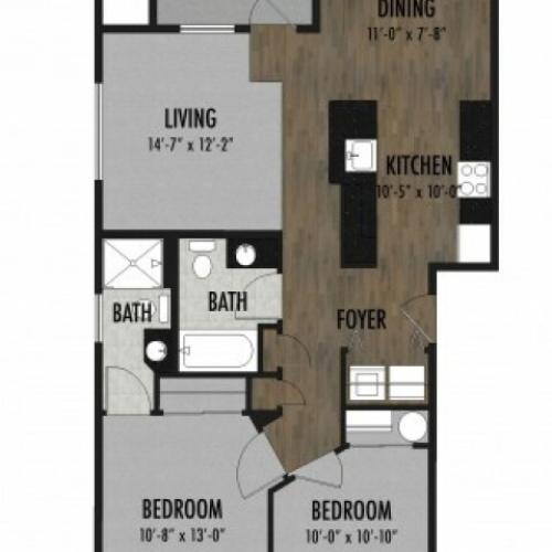 Claystone Floor Plan