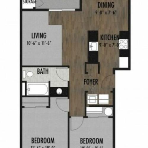 Quartz Floor Plan